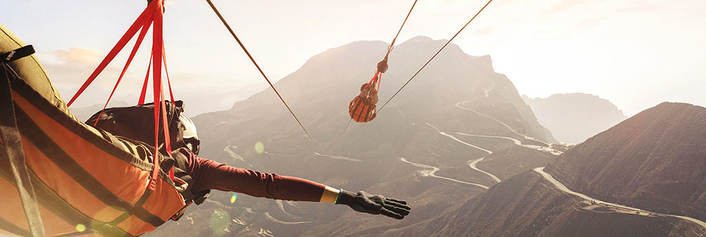 Jebel Jais Flight, The Longest Zipline In The World - Jebel Jais ...