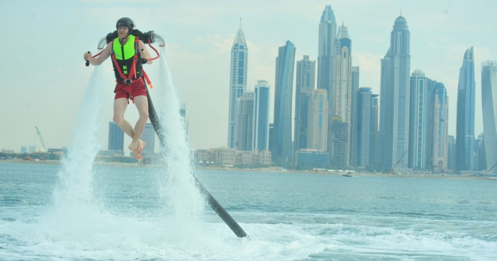 Dubai: 30-Min Water Jetpack Experience at The Palm Jumeirah ...