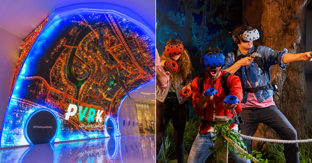 Virtual reality theme park opens in Dubai Mall - What's On Dubai