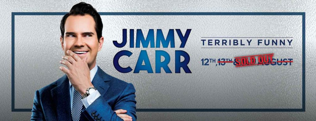 Jimmy carr august 2020